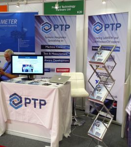 PT Partners stand at Sensors and Instrumentation
